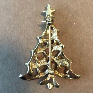 Jewelry - Christmas pins Reindeer and Christmas Tree Brooch